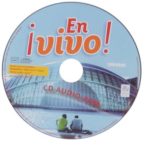 En Vivo Palier 1, 1re Annee CD Eleve de Remplacement par Rubio-E