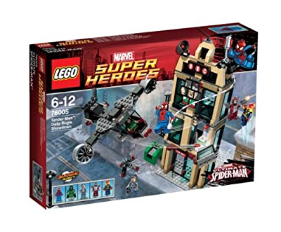 LEGO Super Heroes 76005 Marvel Spider-Man: Encuentro en el Daily Bugle por LEGO