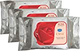 GINNI REFRESHING Facial Wipes-Rose-3 pac...