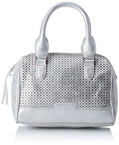 Tamaris Ellen Bowling Bag 1217161 Damen Bowlingtaschen 27x19x16 cm (B x H x T), Silber (Silver 941)