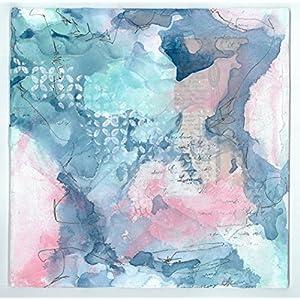 Original Kunstwerk Kristina 25x25 Malkarton