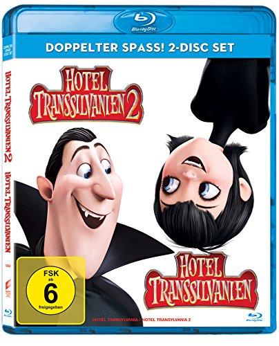 Hotel Transsilvanien 1 + 2 (exklusiv bei Amazon.de) [Blu-ray] [Limited Edition]
