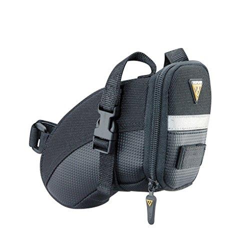TOPEAK Aero Wedge Pack Strap Satteltasche Riemen Sattelstütze Rücklichtaufnahme Fahrrad Rennrad MTB, 15000007, Größe small