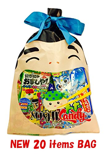 20 dolci e snack Giapponesi in busta regalo