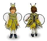 MEDIA WAVE store 619434 Costume di Carnevale Travestimento Ape Bambina da 6 a 8 Anni