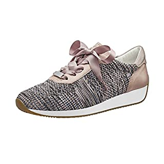 ARA Damen LISSABON 1234027 Sneaker, Beige Multi, Puder 35, 40 EU