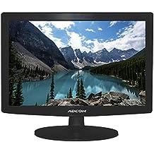 Adcom 15.1 inch (38.1 cm) 1510 LED Monitor with VGA Port and Power Savings (Black)