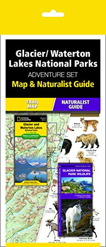 Glacier/Waterton Lakes National Parks Adventure Set (National Angeln Park Glacier)