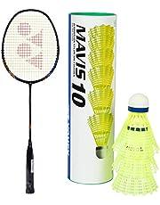 Yonex Nanoray Light 18i Graphite Badminton Racquet (77g, 30 lbs Tension)