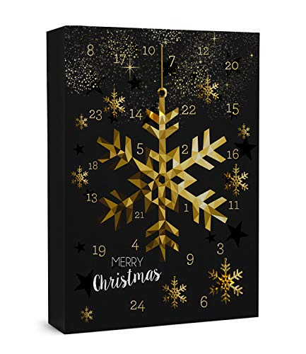 """SIX """"Weihnachten Damen Schmuck Adventskalender, 24-teilig, Geschenke, Überraschung, Adventszeit, Xmas, Ohrringe, Ketten, Charms, Armbänder (388-320)"""
