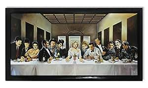 Renato imprimé image casaro invitation hollywood james dean elvis presley souper 107 x 57 cm-prix avantageux