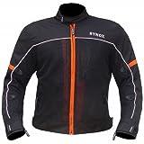 Rynox Mesh/Polyester Air GT Riding Jacket (Orange, X-Large)