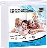 Utopia Bedding Protector de colchón Impermeable hipoalergénico Premium - Funda de...