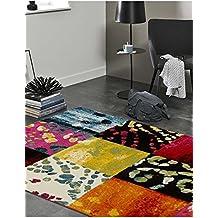 alfombra saln diseo carre gioia b de diseo moderno alfombra moderna multicolor