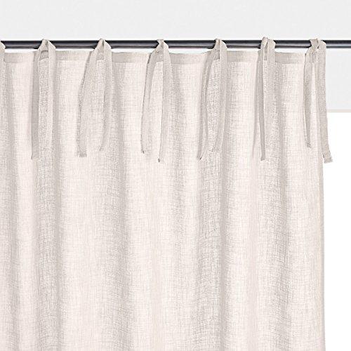 La redoute interieurs tenda tinta unita effetto lino nyong 250 x 140 cm