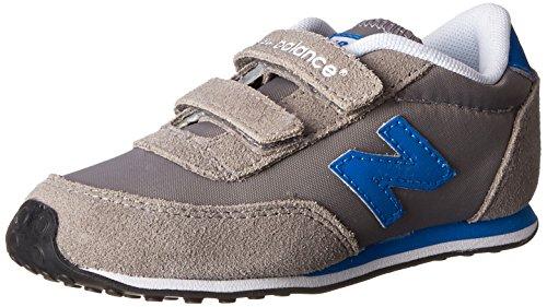 New Balance KE410 - Zapatillas unisex niños, Gris(Gris/Azul), 37 EU