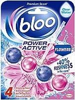 Bloo Power Active Flowers Toilet Rim Block, 50 g