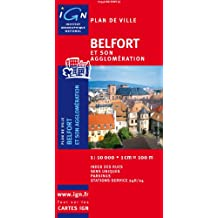 Plan de ville : Belfort (sans livret)