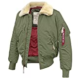 Alpha Industries Injector III sage green - XL