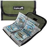 Angel-Berger Vorfachtasche Doppelseitig Hakentasche Vorfachmappe