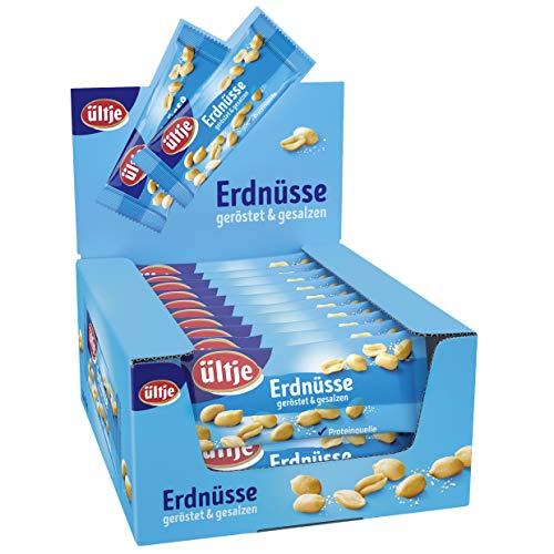ültje Erdnüsse, geröstet und gesalzen, 20er Pack (20 x 50 g)