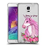 Best Note4 Cases - Head Case Designs Watercolour Sassy Unicorns Soft Gel Review