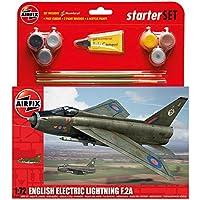 Airfix - Ai55305 - English Electric Lightning F2a - Kit De Démarrage - 92 Pièces - Échelle 1/72