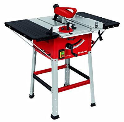 Einhell UK 4340790 1500W 250 x 30 x 2.4mm Table Saw with Underframe 5700rpm/ Carbide Tipped Saw Blade