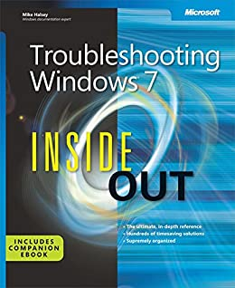 Troubleshooting Windows 7 Inside Out by [Halsey, Mike]