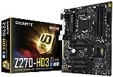 Gigabyte ga-z270-hd3Ultra Durable Mainboard mit Chipsatz Plus unterstützt 7/6. Generation Intel Core Prozessoren-Schwarz