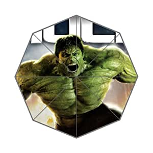 New 2014 Superhero Hulk The Incredible Printed 43.5 inch Wide Auto Foldable Umbrella Anti Rain Durable Automatic Umbrella