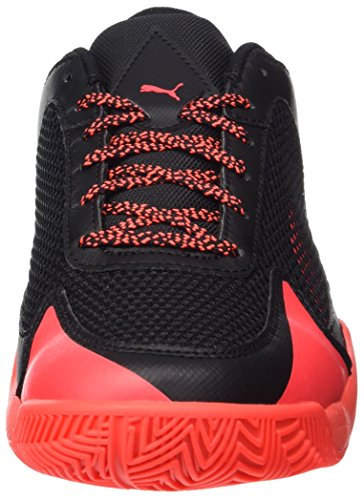 Puma Evospeed Indoor NF 5, Chaussures de Fitness Mixte Adulte Orange (Black-fiery Coral)