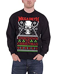 Megadeth Christmas jumper Sweat-Shirt Countdown To Christmas officiel Homme