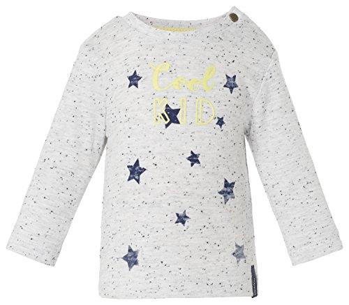 Noppies Baby - Jungen Hemd B Tee ls Ty Stars, Gr. 56, Grau (Greige melange C226)