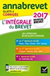 Annales Annabrevet 2017 L'int�grale d...