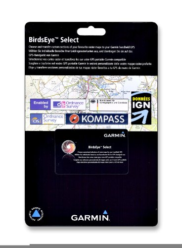 Garmin Birdseye Select Karte zum Herunterladen von Rasterkarten-Daten