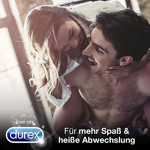 Durex Fun Explosion Kondome, aufregende Vielfalt für mehr Spaß, 40er Großpack (1 x 40 Stück) - 3