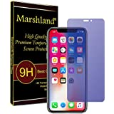 Apple IPhone X Tempered Glass, Anti-Blue Little Bit Small Screen Protector, 99% Transparency, 9H Hardness, Bubble-free, Scratch Resistant, 2.5D Round Edge, 0.33mm Thickness, Anti Glare, Anti Scratch, Oleo Phobic Coating, Tempered Glass For Iphone X By Mar
