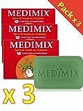 Medimix Seife ayurvedique–Medimix ayurvedische Seife Glycerin den 18Kräuter–Lot de 3x125GRS