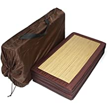 Jacinto de agua plegable colchón cojín tailandés cuatro láminas, ...