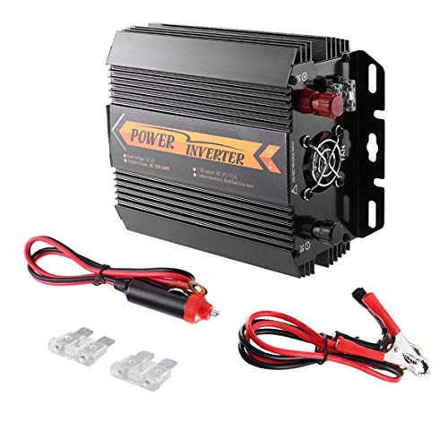 Heaviesk T8094 Solar Inverter DC 12 V zu AC 220 V 1000 Watt / 1500 Watt Auto Fahrzeug modifizierte Sinus-Welle Auto Power Inverter Ladegerät Konverter 1500w Power Inverter