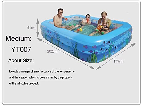 Intime Mundo Subacuatico Estanque Rectangular Grande Pesca Estanque - Estanque-rectangular
