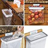 #10: Good quality Attach-A-Trash The Hanging Trash Bag Holder Garbage Bags Storage Rack