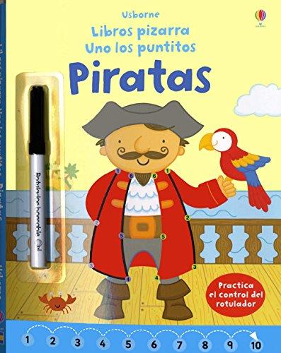 Uno Los Puntitos. Piratas. Libros Pizarra
