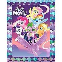 My Little Pony. The Movie. Caja metálica: Contiene 3 libros, 4 rotuladores, 1 póster y más de 50 pegatinas