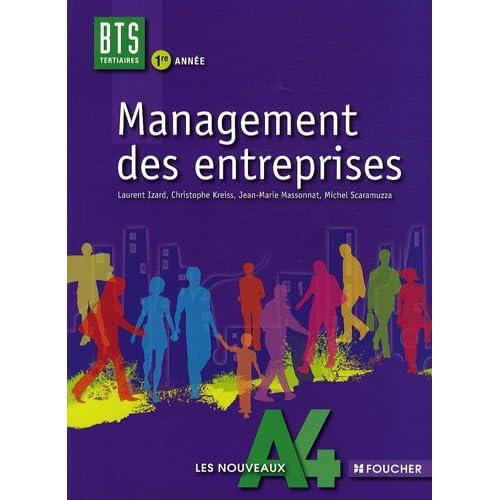 Management des entreprises BTS tertiaires 1re année