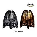 3 In 1 Halloween Black Lace Spider Web - Best Reviews Guide