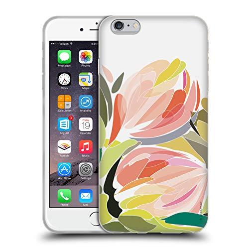 Head Case Designs Offizielle Turnowsky Blueten Knospe Blume Soft Gel Hülle für iPhone 6 Plus/iPhone 6s Plus