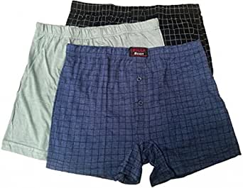 Mens Boxers Assorted Colours Billy Brand Shorts Underwear Trunks Pack Of 6 (Small)