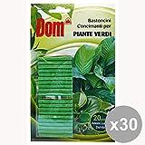 Conjunto de 30 palos DOM plantas verdes de jardinería concimanti